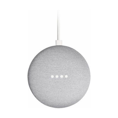 Google Home Mini Caixa De Som Assistente Pessoal Cinza Claro (GA00210-US)