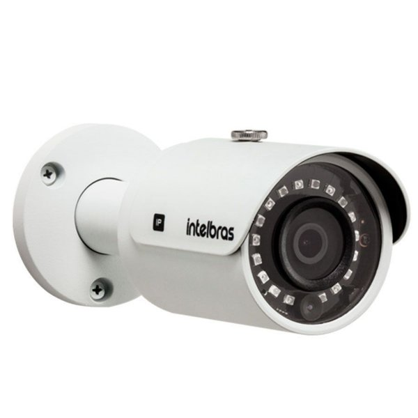 Kit 08 Câmeras IP 1Mp HD 720p Intelbras VIP S 3020 G3 + NVD 1208 Intelbras, NVR, HVR