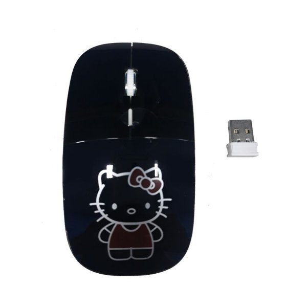 Mouse Wireless 2.4Ghz Hello Kitty