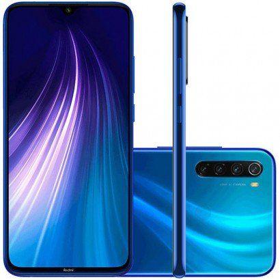 Smartphone Xiaomi Redmi Note 8 Dual Chip 128GB 4Gb Ram (Neptune Blue) Azul