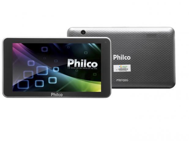 Tablet Philco PTB7QSG 8GB 7 Wi-Fi - Android 7.1.2 Nougat Quad Core