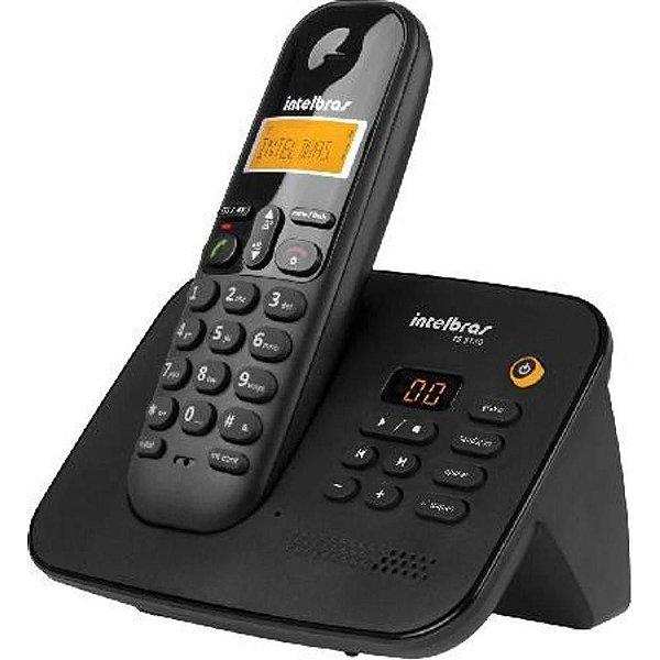 Telefone sem Fio Digital com Secretária Eletrônica TS 3130 - Intelbras