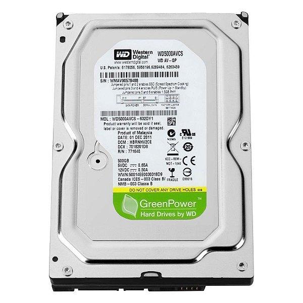 HD Interno 500GB 5900 Rpm - Western Digital