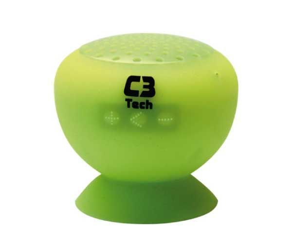 Caixa de Som Bluetooth SP-12B Verde - C3tech