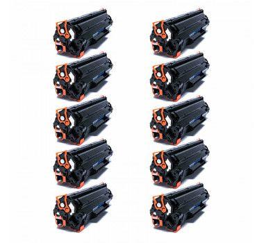 Kit 10 Cartuchos de Toner Compatível HP Cf-283A