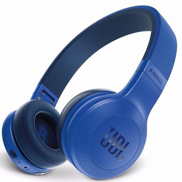 Fone de Ouvido JBL E45BT Bluetooth Com Microfone Azul