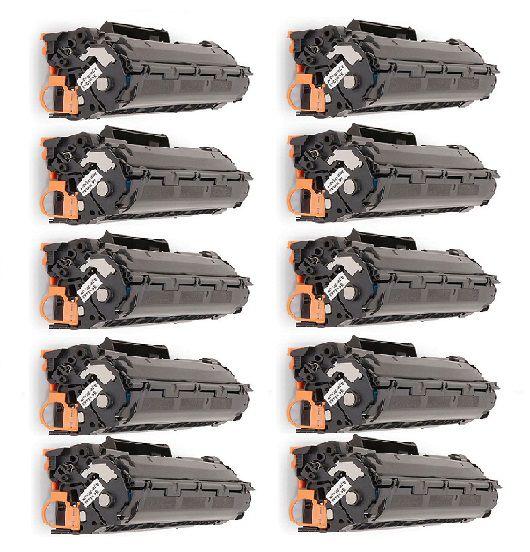 Kit 10 Cartuchos de Toner Compatível HP Ce278A