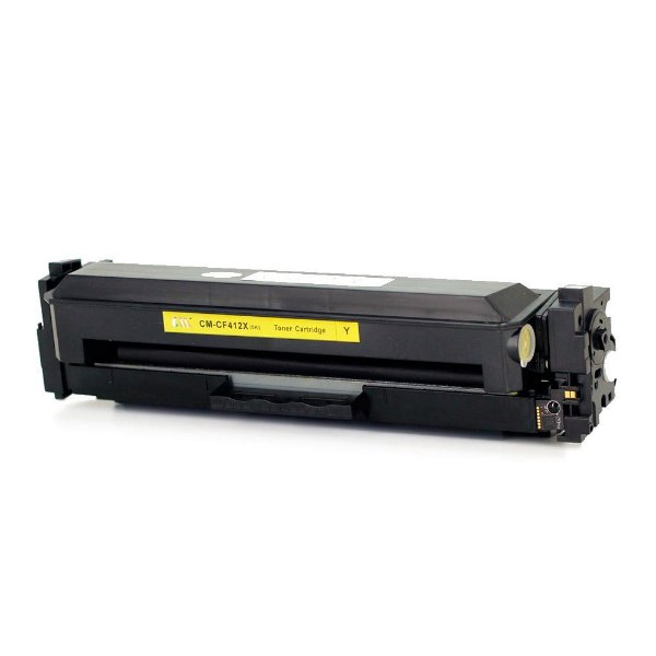 Cartucho de Toner Compatível HP CF-412X Amarelo