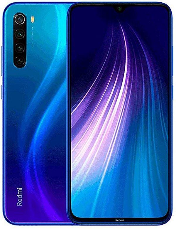 Smartphone Xiaomi Redmi Note 8T 128Gb (Starscape Blue) Azul