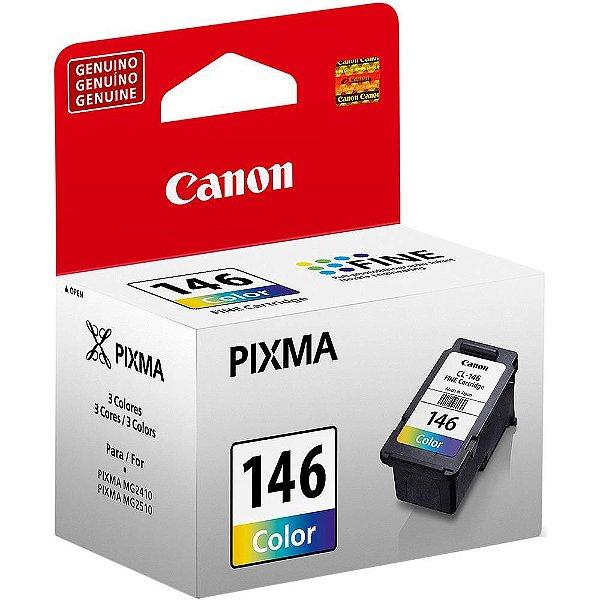 Cartucho de Tinta Original Canon 146 (Cl146) Colorido 8ml