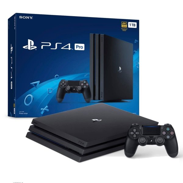 Console Sony PlayStation 4 PRO 1TB Mod. 7115B+ 1 Controle Dualshock Preto