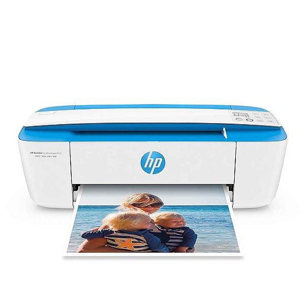 Multifuncional Deskjet Ink Advantage 3775 Jato de Tinta Colorida Azul - Hp