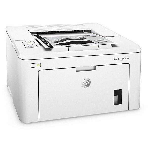 Impressora Hp Laserjet Pro M203dw Wi-Fi