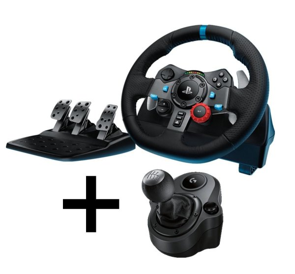 Volante + Câmbio G29 Driving Force Ps3 Ps4 Pc Driving Force Shifter Logitech