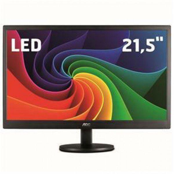 Monitor Led 21.5  E2270Swhen - Aoc