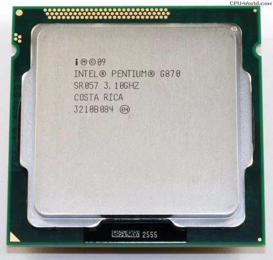 Processador Pentium G870 3.1Ghz 3MB - Intel