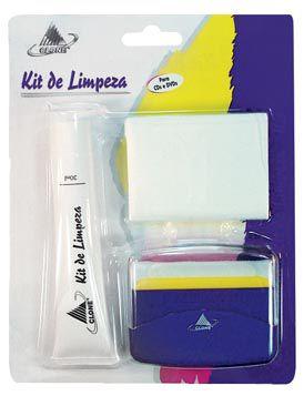 Kit de Limpeza e Proteção para Cd´s e Dvd's - Clone