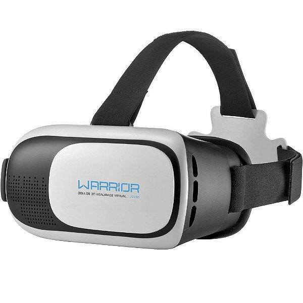 Óculos 3D Realidade Virtual Warrior Js080 Warrior - Multilaser