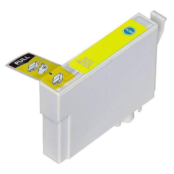 Cartucho de Tinta Compatível Epson 73 (To734) Amarelo 12ml