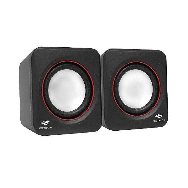 Caixa de Som Speaker 2.0 3w - C3 Tech
