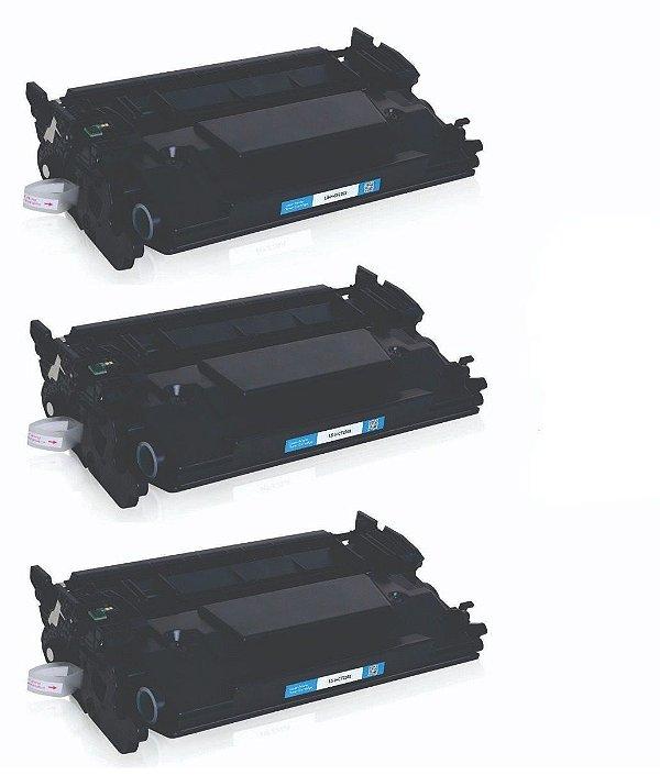 Kit 03 Cartuchos de Toner Compatível HP Cf226A