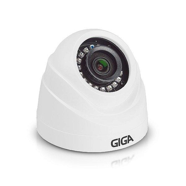 Câmera Dome Hd Serie Orion 720p Ir 20m 1/4 2.6mm Gs0019 Giga