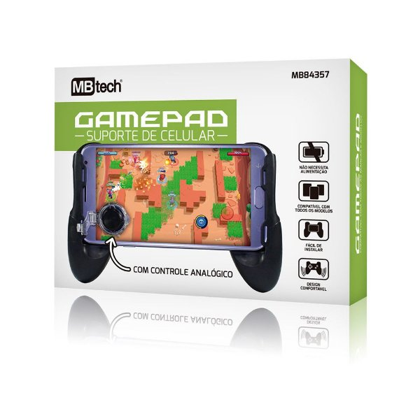 Gamepad  Suporte De Celular  Mb 84357  - Mb Tech