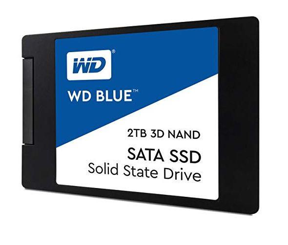 Ssd 2Tb Western Digital Wd Blue Sata III Nova Versão 3D - Modelo WDS200T2B0A