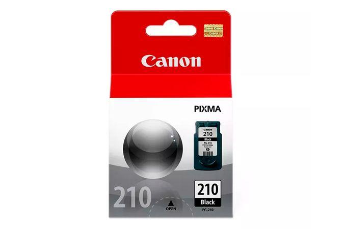Cartucho de Tinta Original Canon 210 (PG210) Preto 9ml