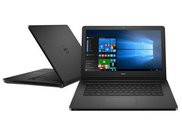 Notebook I14-5468-NU20P Intel I5 7200u, Memória de 4gb, Hd de 1tb, Intel Hd Graphics - Dell