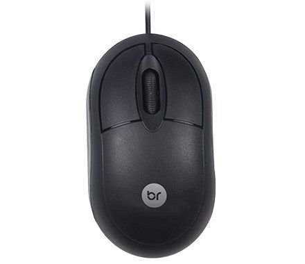 Mouse Standard Preto USB - Bright