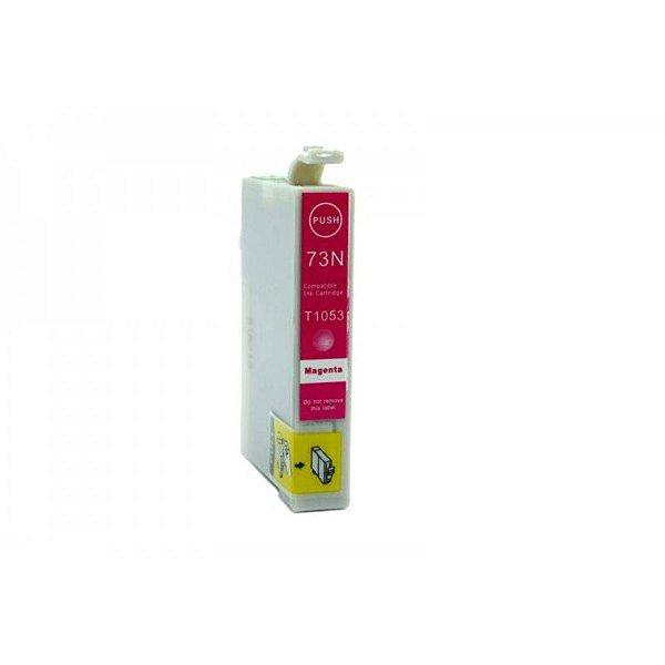 Cartucho de Tinta Compatível Epson 73 (To733) Magenta 12ml