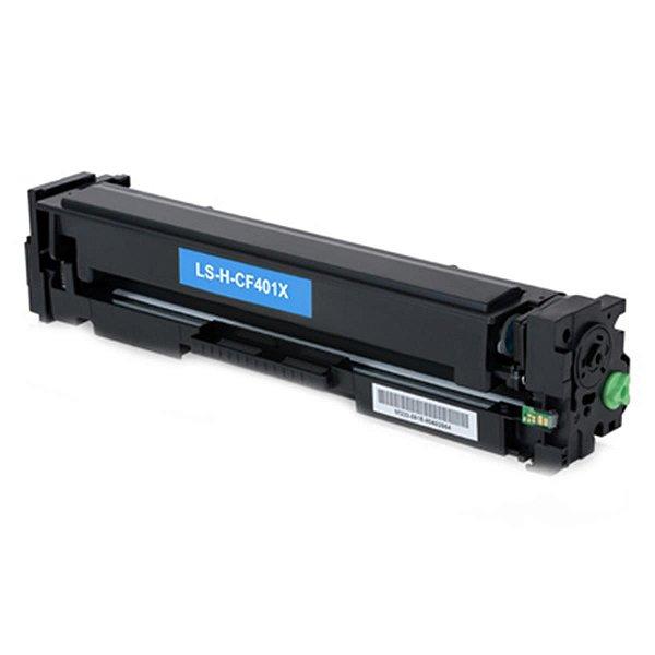Cartucho de Toner Compatível Hp Cf-401X Ciano