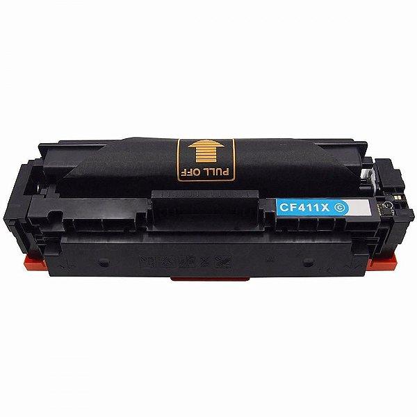Cartucho de Toner Compatível com HP CF-411X Ciano