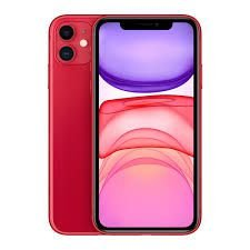 """iPhone 11 Apple 64GB Vermelho 4G Tela 6,1"""" Retina Câmera Dupla 12MP + Selfie 12MP iOS 13"""