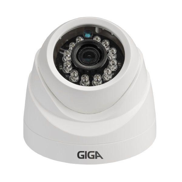 Câmera Dome Open Hd Plus 2,6Mm 20Mts 720P Gs0012 - Giga