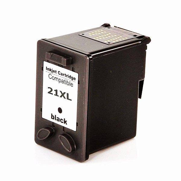 Cartucho de Tinta Compatível HP 21xl (9351XL) Preto 21ml