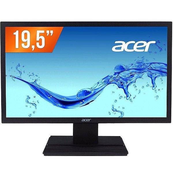 "Monitor Led 19,5"" HD V206HQL - Acer"