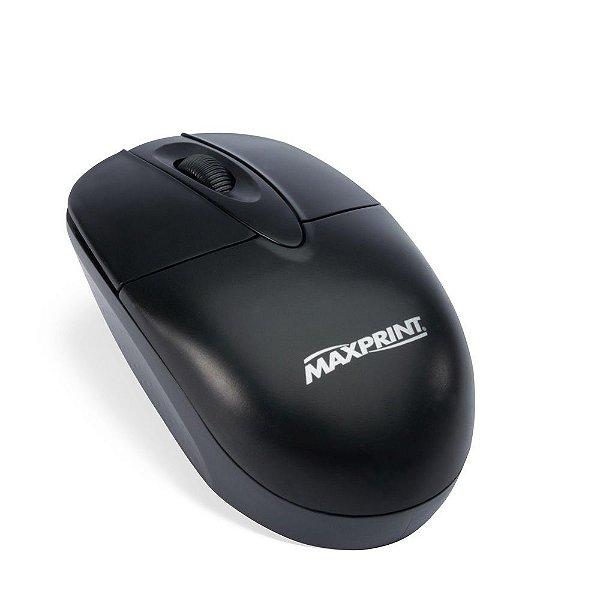 Mouse Usb 606157 Preto - Maxprint