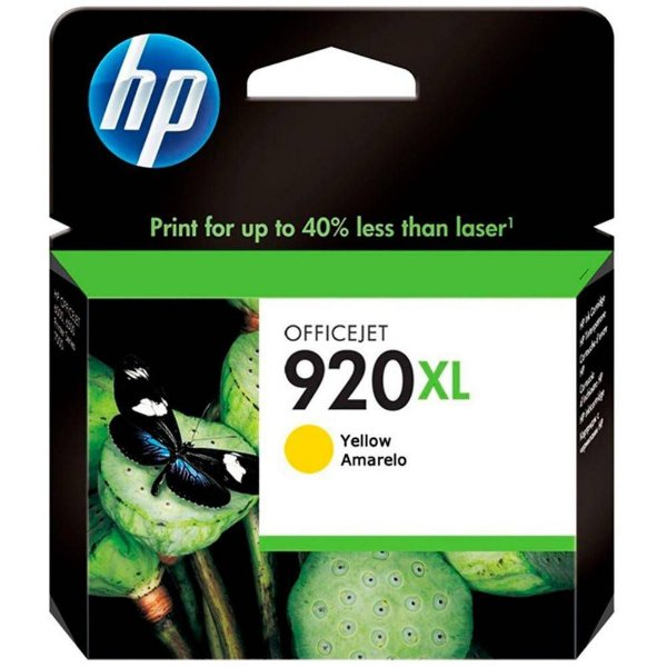 Cartucho de Tinta Original HP 920xl (Cd974) Amarelo 6ml