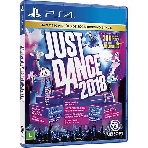Just Dance 2018 Ps4 - Ubisoft