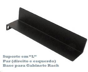 Base para Gabinete Rack Suporte L 15cm