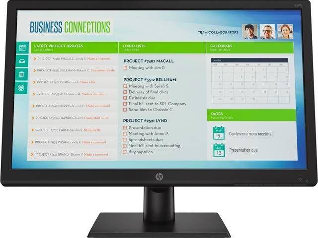 Monitor 18.5 Led V19b Widescreen - Hp