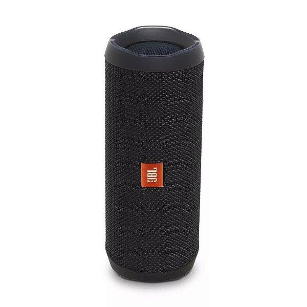 Caixa de Som JBL Flip 4 Bluetooth à Prova D'água Preto