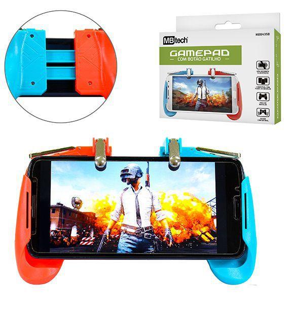Gamepad  Com Botão Gatilho Mb 84358  - Mb Tech