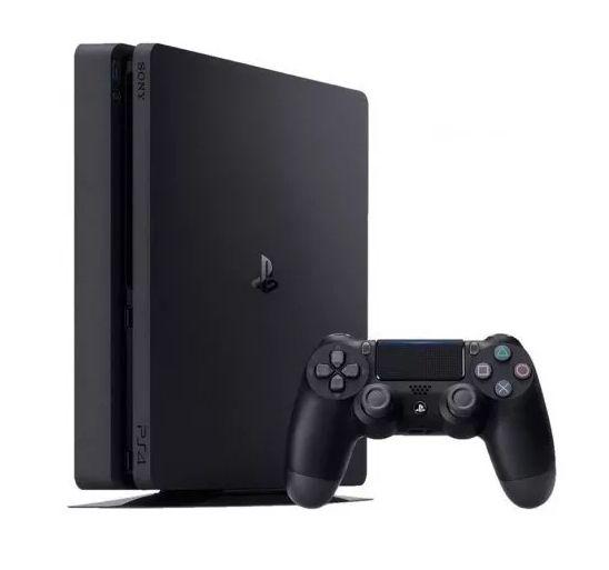 Console Sony PlayStation 4 Slim 1TB Mod. 2215B+ 1 Controle Dualshock Preto
