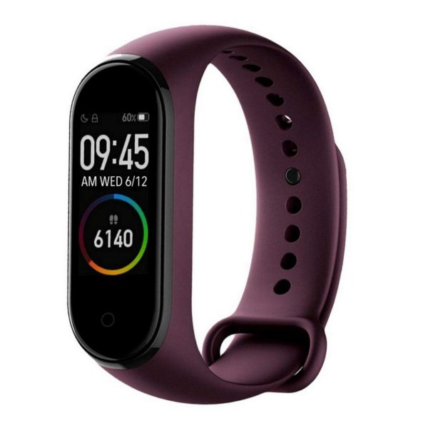 Smartband Mi Band 4 Bluetooth 5.0 Android Bordo - Xiaomi