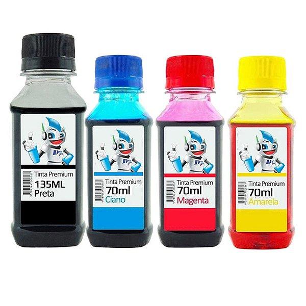 Kit Refil de Tinta Compatível Canon G1000 Cores - Profit Ink