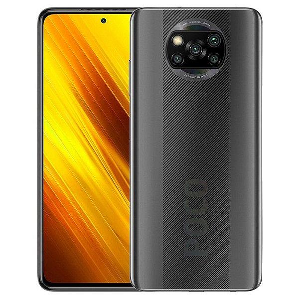 Smartphone Xiaomi Poco X3 64gb (Shadow Grey) Cinza