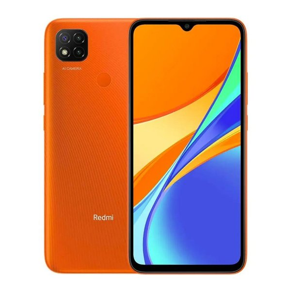 Smartphone Xiaomi Redmi 9C Dual Chip 64GB 3Gb RAM (Sunrise Orange) Laranja